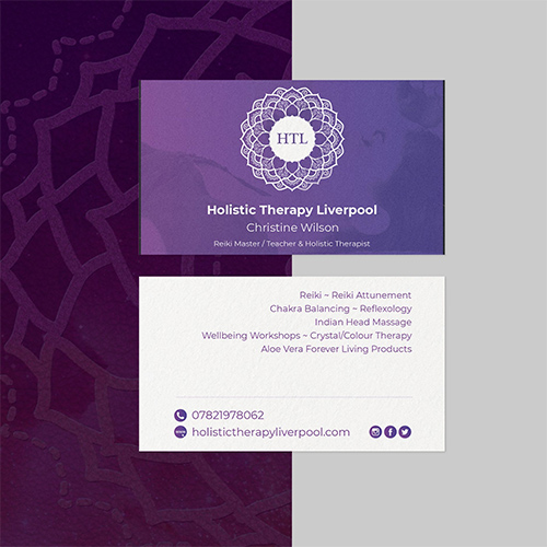 Holistic Therapy Liverpool Cards