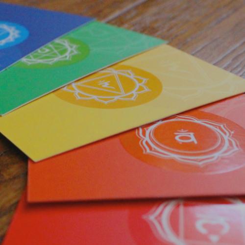 Chakra balancing cards